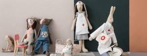 Tradycyjne skandynawskie zabawki Maileg